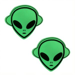 Kanye the Alien Green UV Pasties